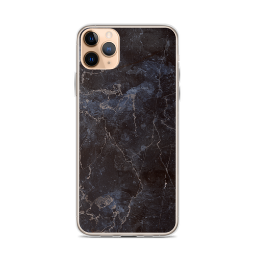 Elegant Black Marble iPhone Case