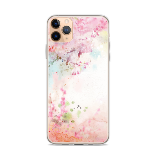 Japanese Floral iPhone Case for iPhone models including 12, 12 Mini, 12 Pro, 12 Pro Max, 11, 11 Pro, 11 Pro Max, XR, XS Max, X/XS, 7Plus/8Plus, 7/8 and SE