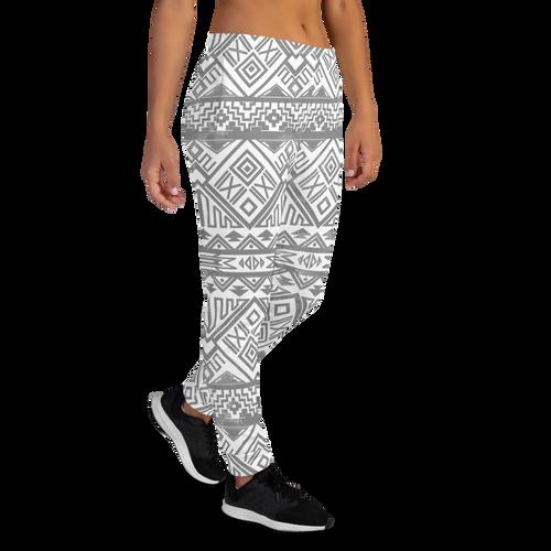 Grey Aztec Cotton Sweatpants by CBK Company