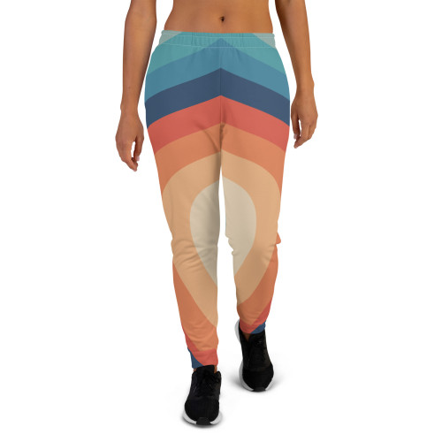 Retro Rainbow Women's Joggers