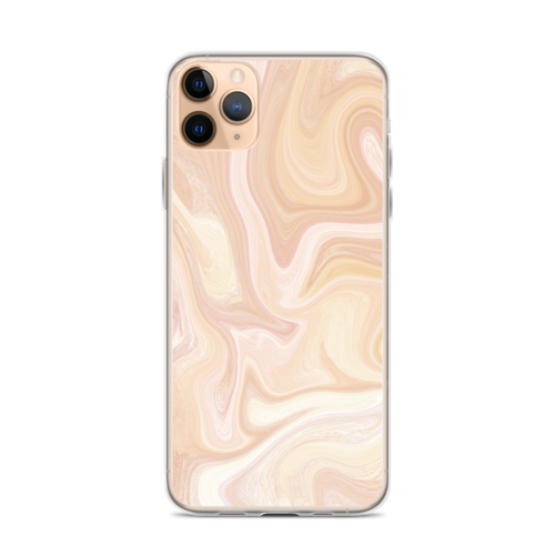 Golden Marble Swirl iPhone Case for iPhone models including 12, 12 Mini, 12 Pro, 12 Pro Max, 11, 11 Pro, 11 Pro Max, XR, XS Max, X/XS, 7Plus/8Plus, 7/8 and SE