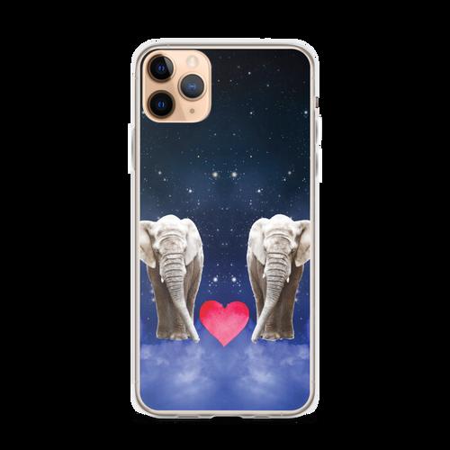 We Heart You Elephants iPhone Case