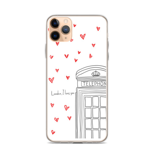 London I Love You iPhone Case