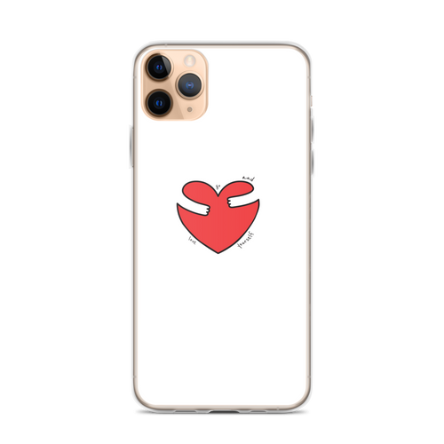 Go Ahead and Love Yourself iPhone Case