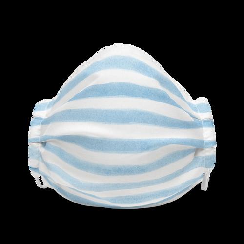 Cute Blue Stripe face mask