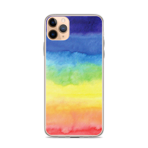 Tie Dye Rainbow Art iPhone Case