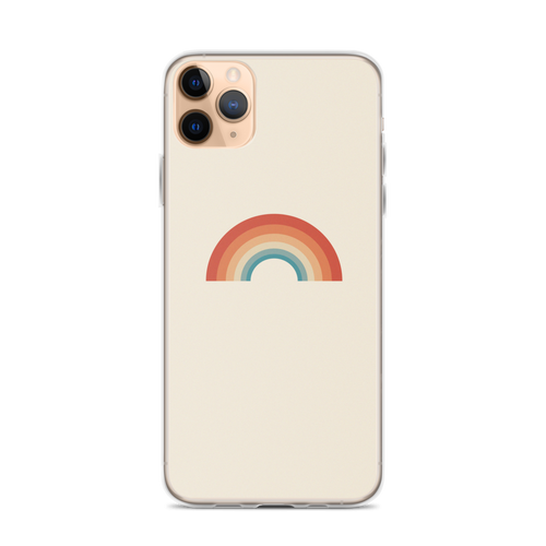 Retro Rainbow iPhone Case