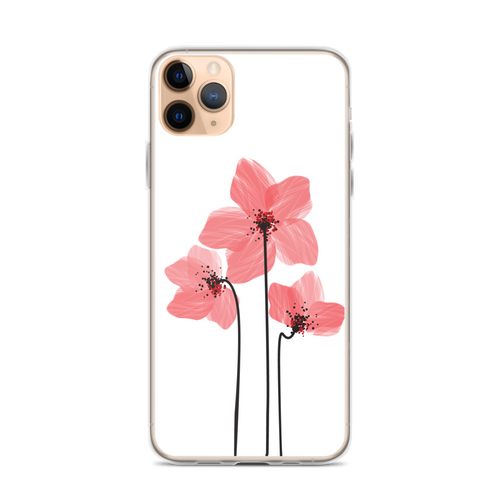Pretty Pink Poppies iPhone Case