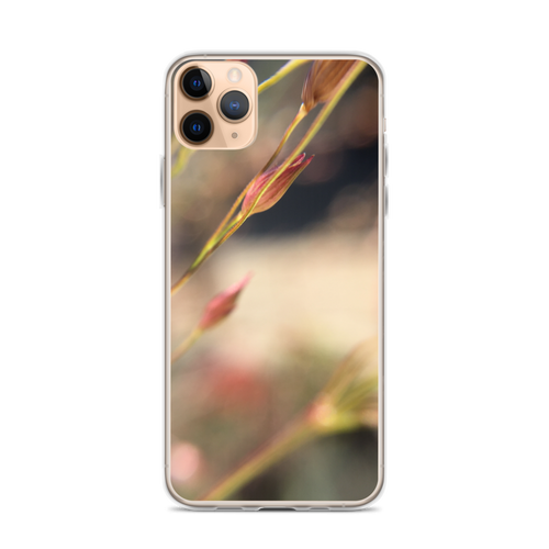 Delicate Blooming Flower iPhone Case