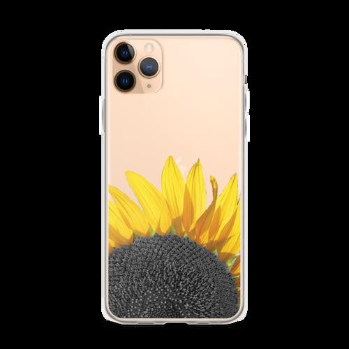 Sunflower Transparent iPhone Case