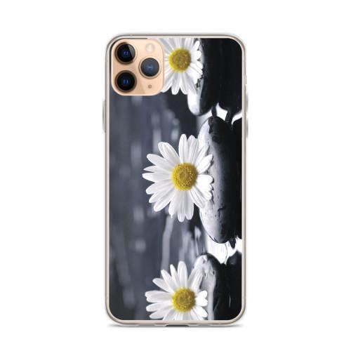 Daisies on Stones iPhone Case
