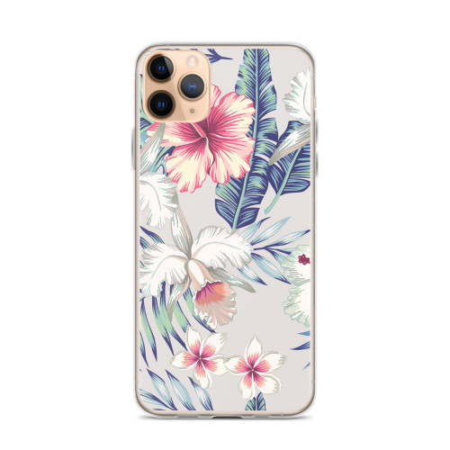 Tropical Floral iPhone Case