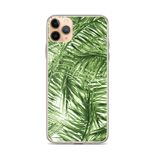 Palm Leaves Pattern iPhone Case