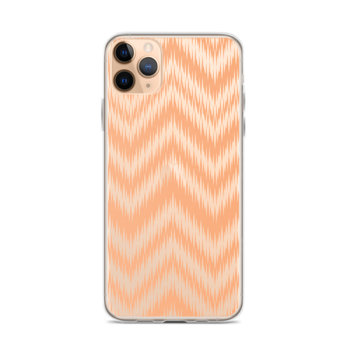 Orange Chevron iPhone Case