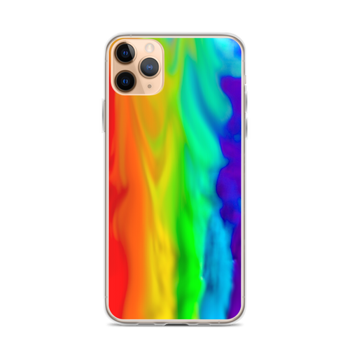 Rainbow Smoke iPhone Case for iPhone models including 12, 12 Mini, 12 Pro, 12 Pro Max, 11, 11 Pro, 11 Pro Max, XR, XS Max, X/XS, 7Plus/8Plus, 7/8 and SE