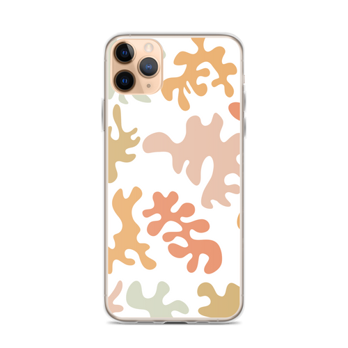 Colorful Beachy Squiggles iPhone Case for iPhone models including 12, 12 Mini, 12 Pro, 12 Pro Max, 11, 11 Pro, 11 Pro Max, XR, XS Max, X/XS, 7Plus/8Plus, 7/8 and SE