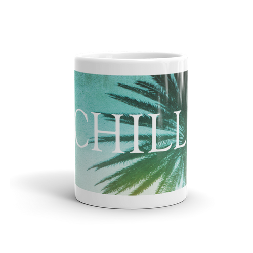 Chill on Palms Mug