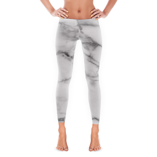 Smooth Grey Marble Leggings