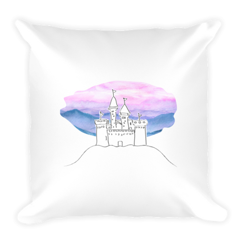 Castle on the Hill Ed Sheeran Square Pillow