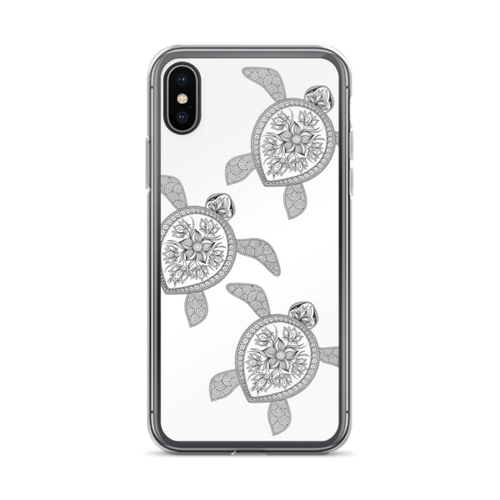 Henna Turtles iPhone Case