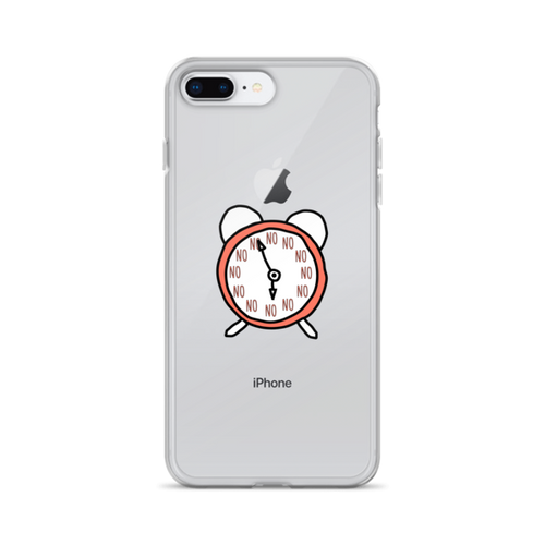 No No No Clock iPhone Case