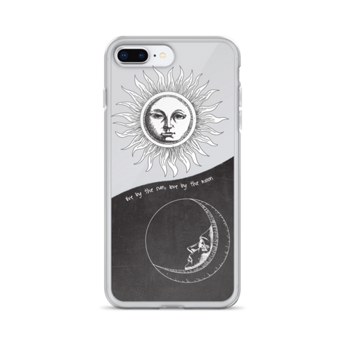 Sun Moon Quote iPhone Case