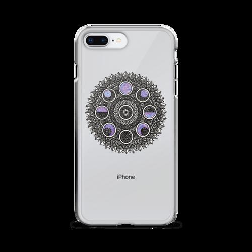 Moon Cycle Galaxy iPhone Case