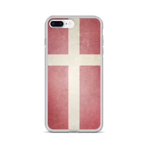 Denmark Flag iPhone Case