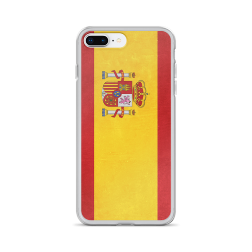 Spain Flag iPhone Case