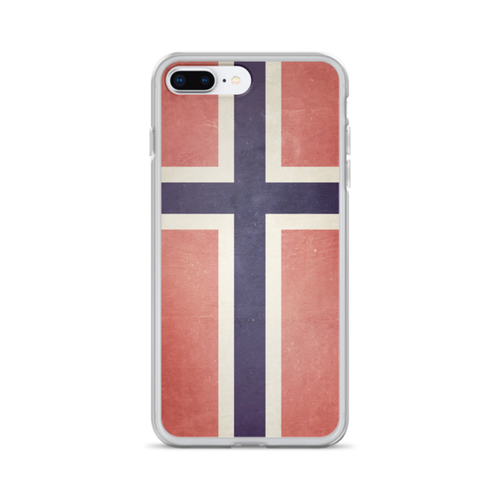 Norway Flag iPhone Case