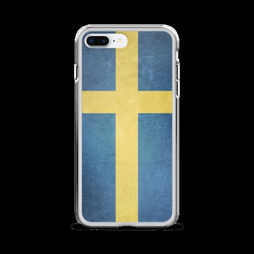Sweden Flag iPhone Case