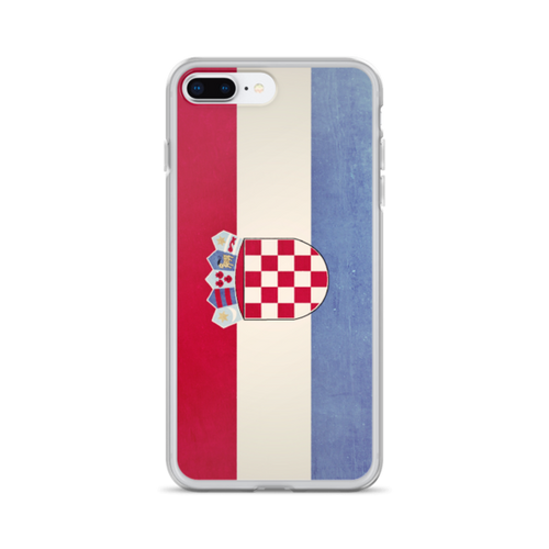 Croatia Flag iPhone Case