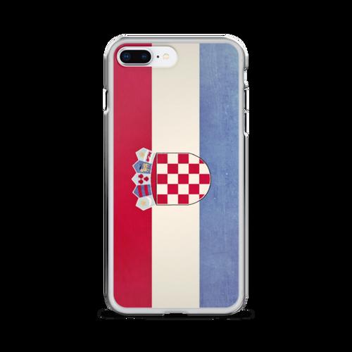 Croatia Flag iPhone Case