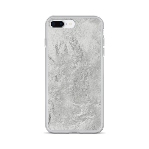 Silver Texture iPhone Case