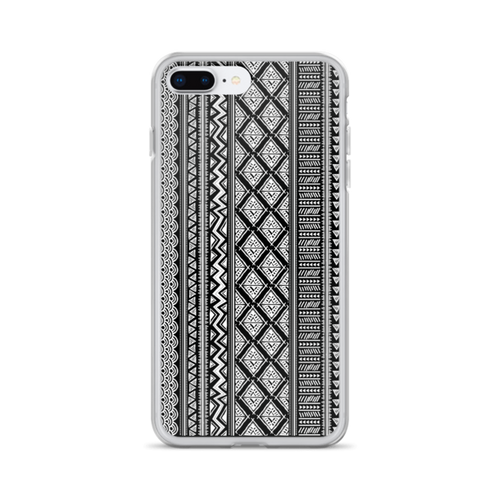 Black and White Tribal iPhone Case