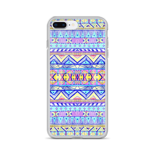 Handdrawn Aztec iPhone Case