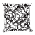Scribble Doodle Square Pillow