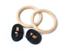 Gymnastic Rings (Wooden)