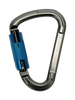 Flashed Twist-Lock Carabiner