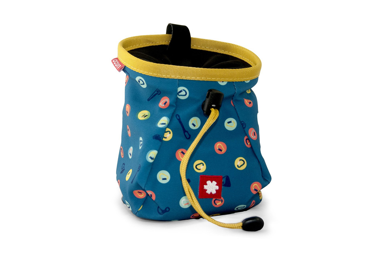 Lucky Chalk Bag Blue Biners  @https://www.mountainmailorder.co.za/