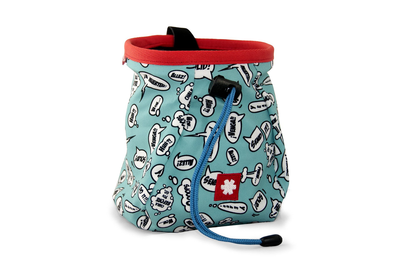Lucky Chalk Bag Turquoise @https://www.mountainmailorder.co.za/