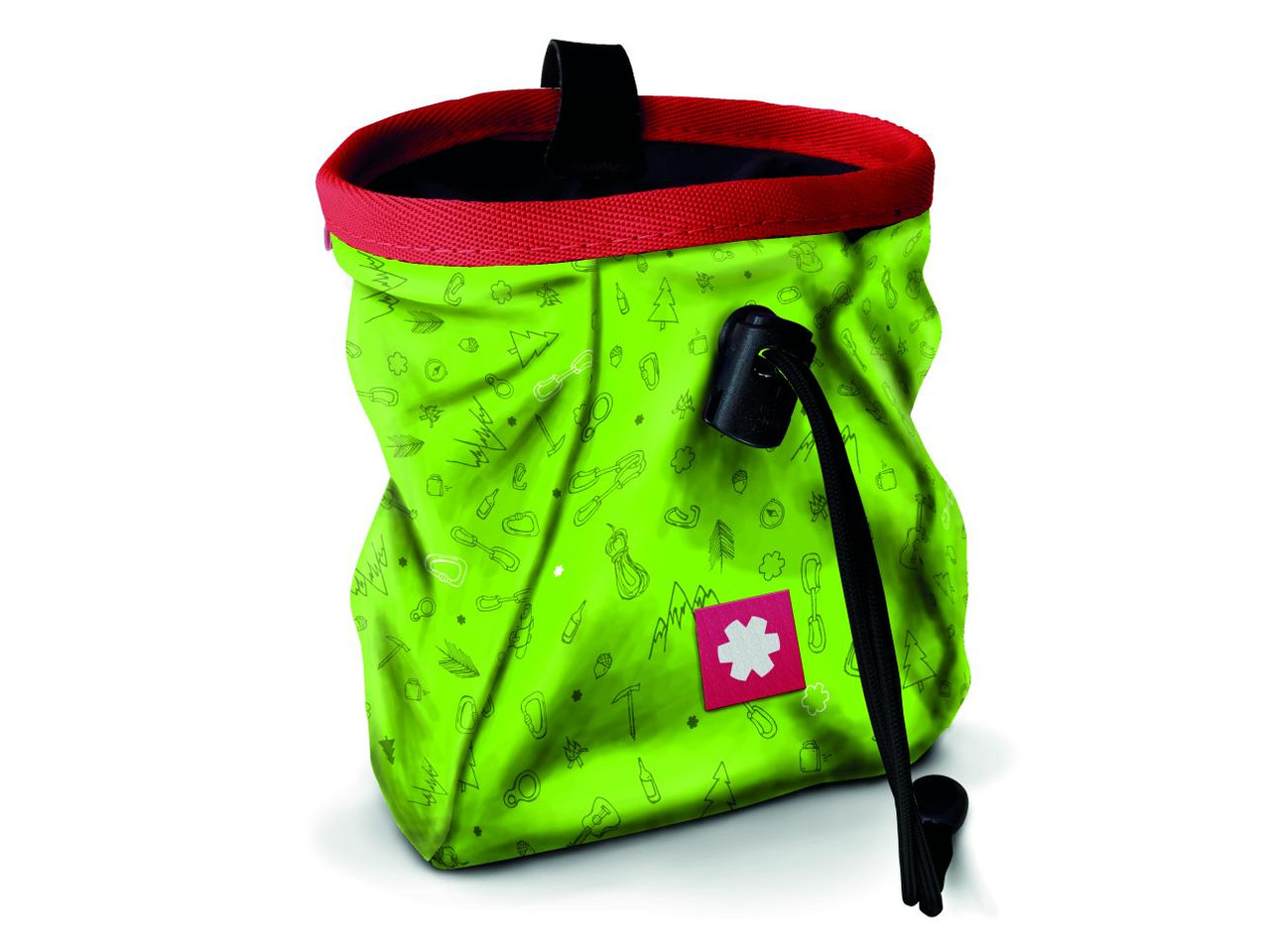 Lucky Chalk Bag Icon Green  @https://www.mountainmailorder.co.za/