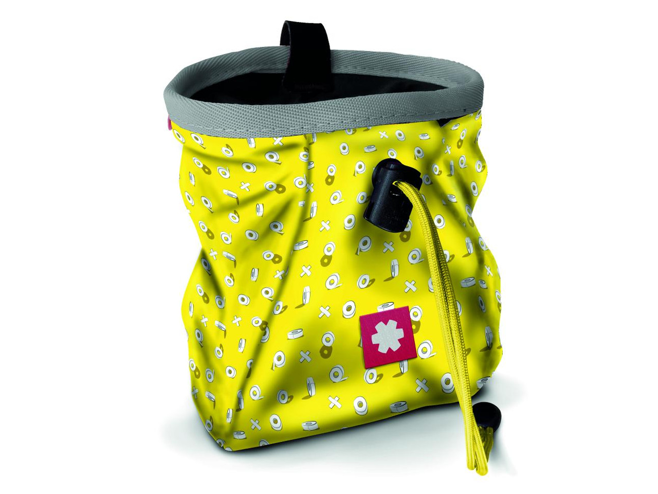 Lucky Chalk Bag Tape Yellow @https://www.mountainmailorder.co.za/