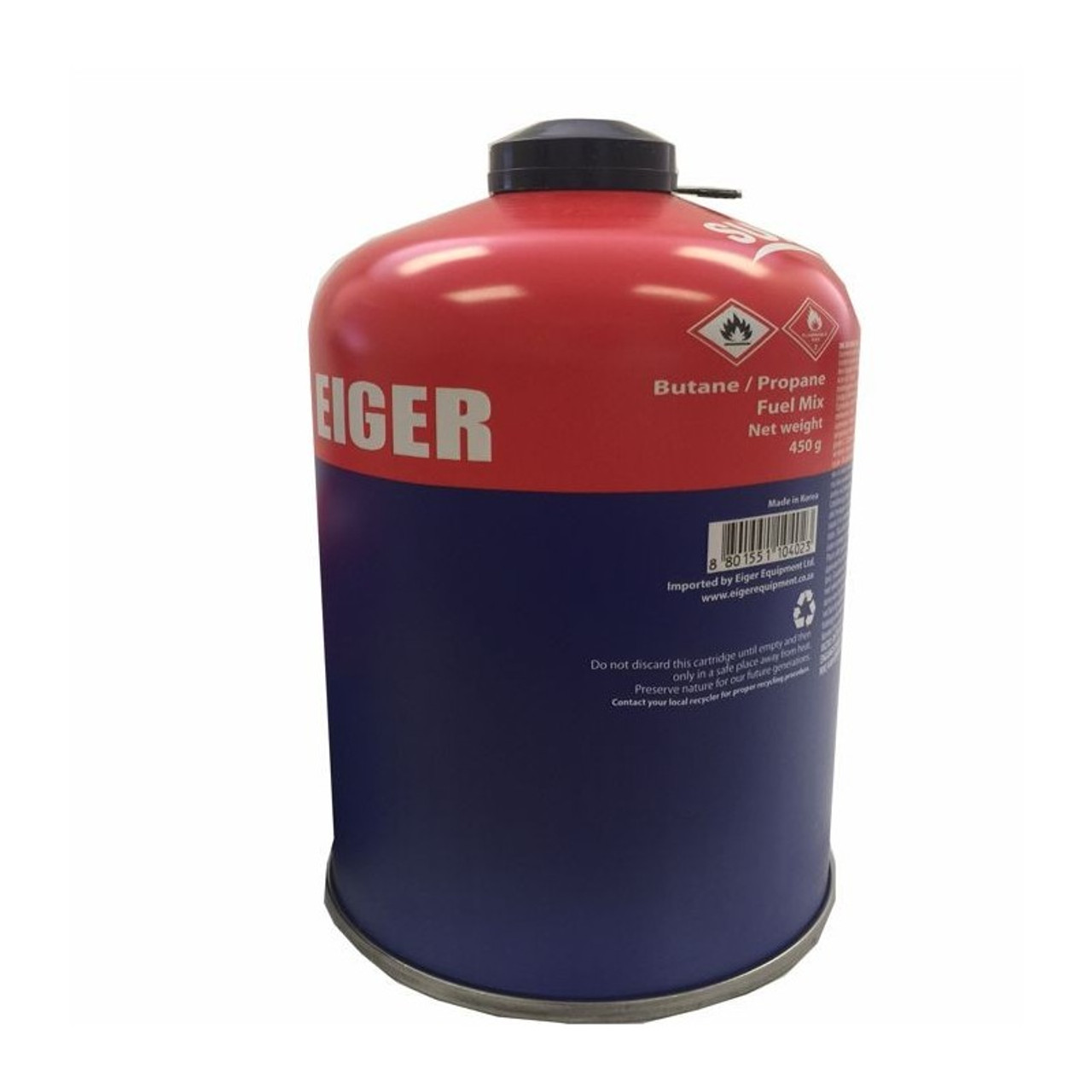 Eiger Resealable Gas  @http//www.mountainmailorder.co.za