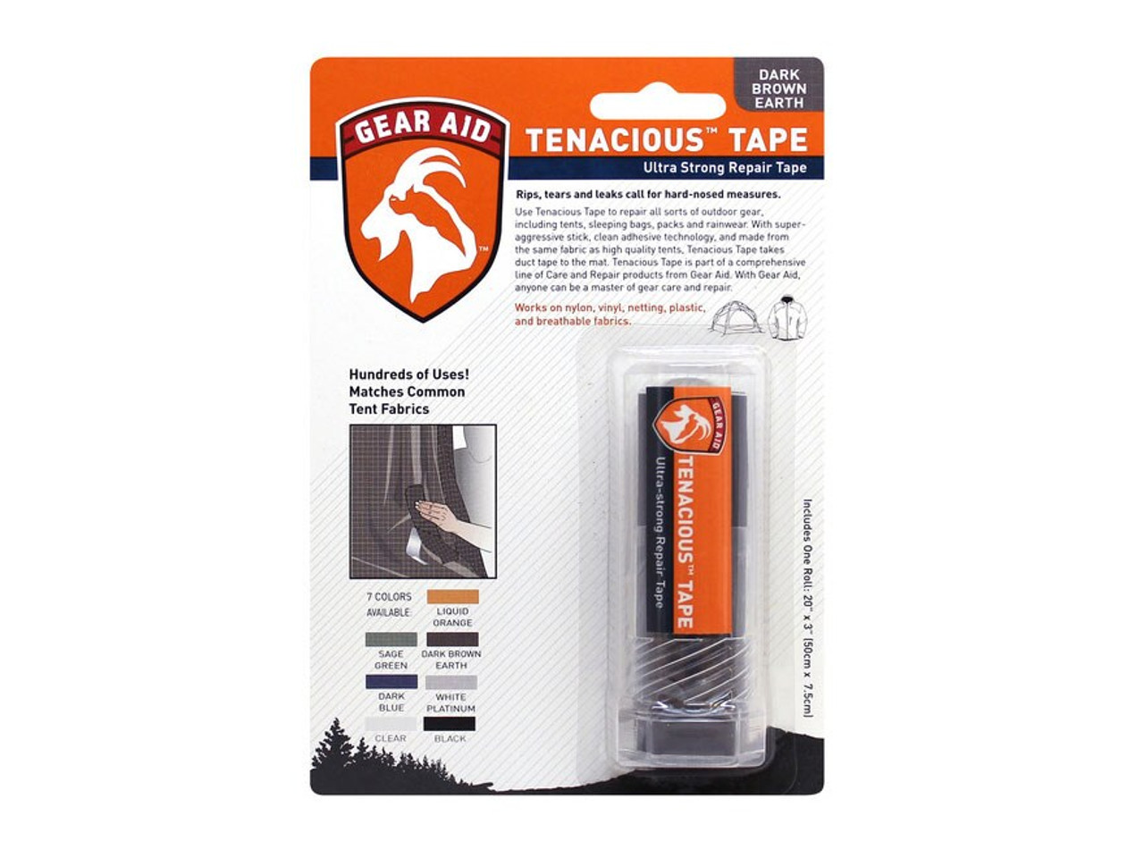 Gear Aid Tenacious Tape @http//www.mountainmailorder.co.za