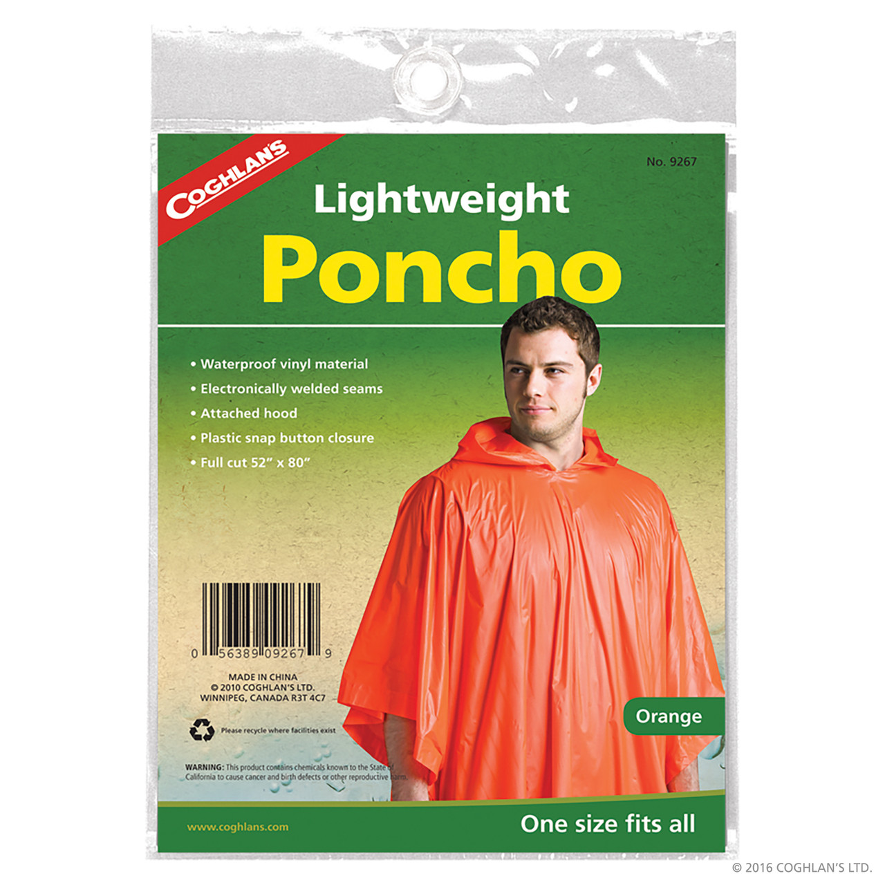 Coghlan's Lightweight Poncho @ https://www.mountainmailorder.co.za/