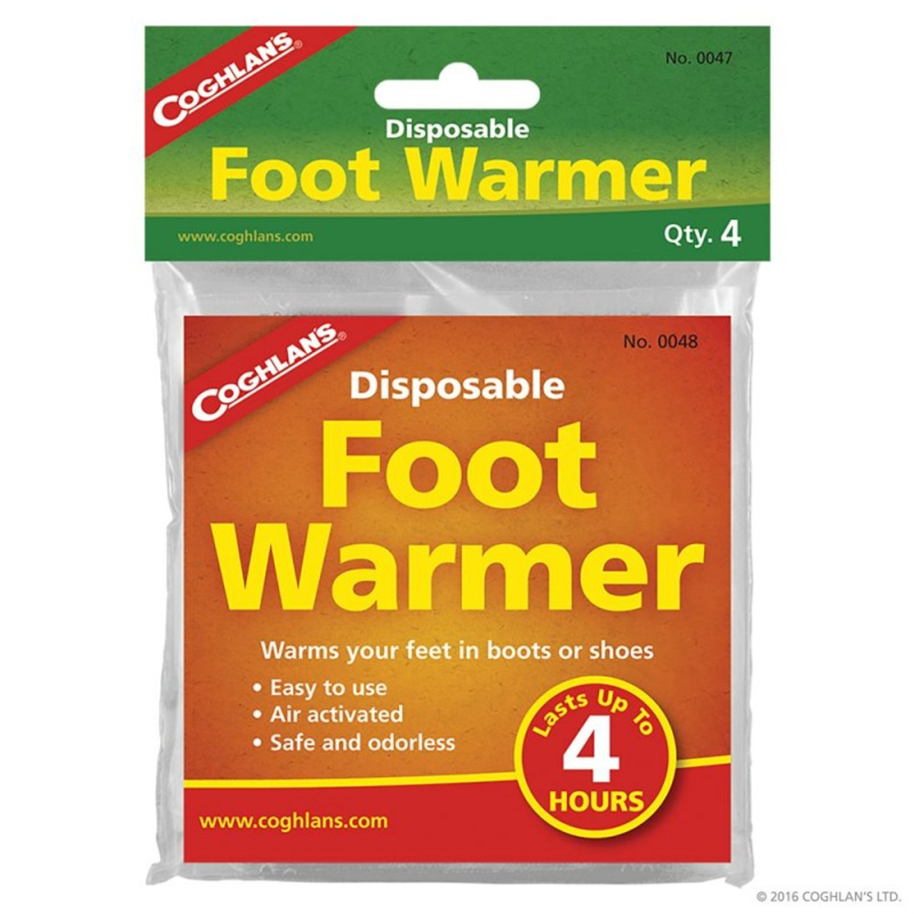 Coghlans Disposable Foot Warmers