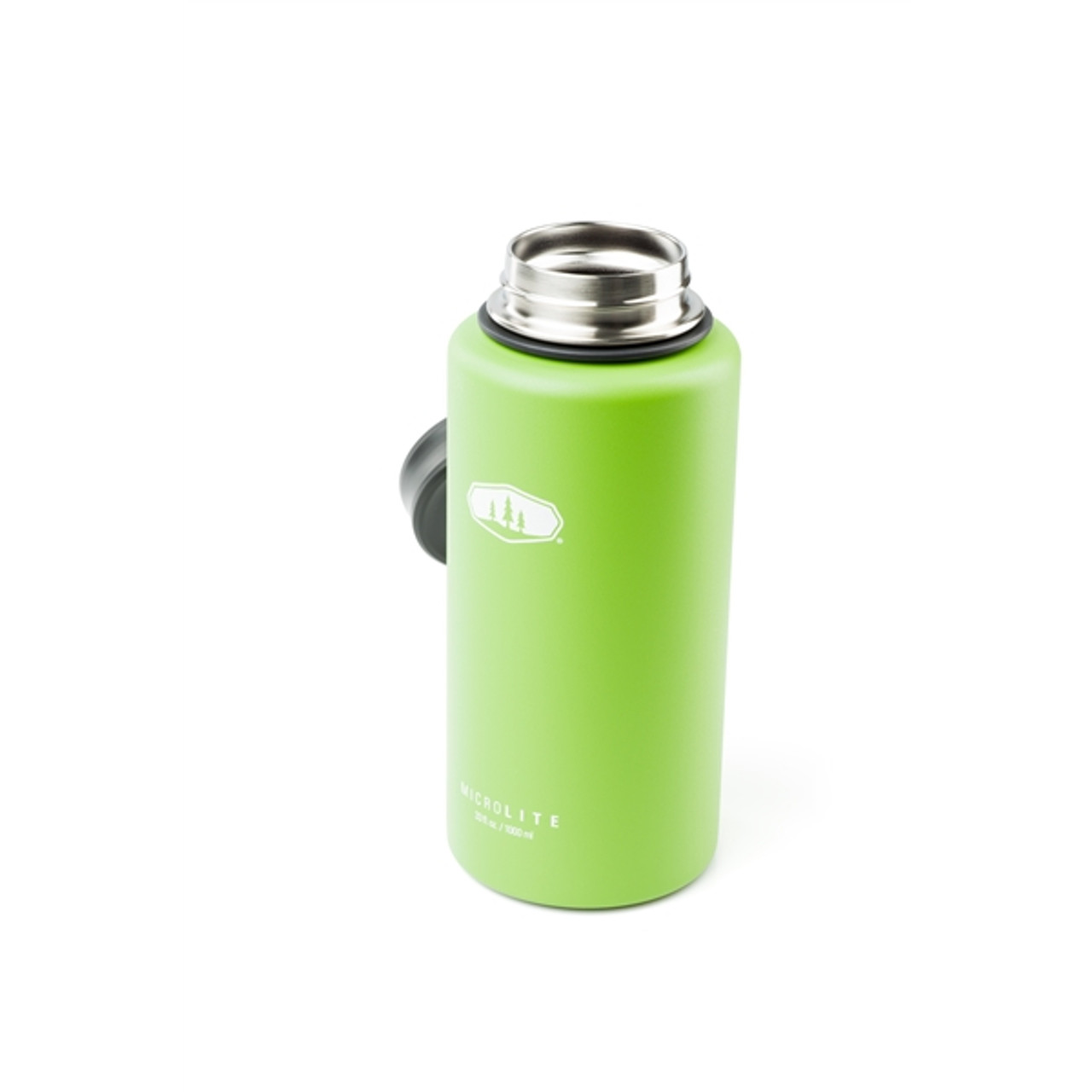 GSI Microlite Twist Flask 1L Green @https://www.mountainmailorder.co.za/
