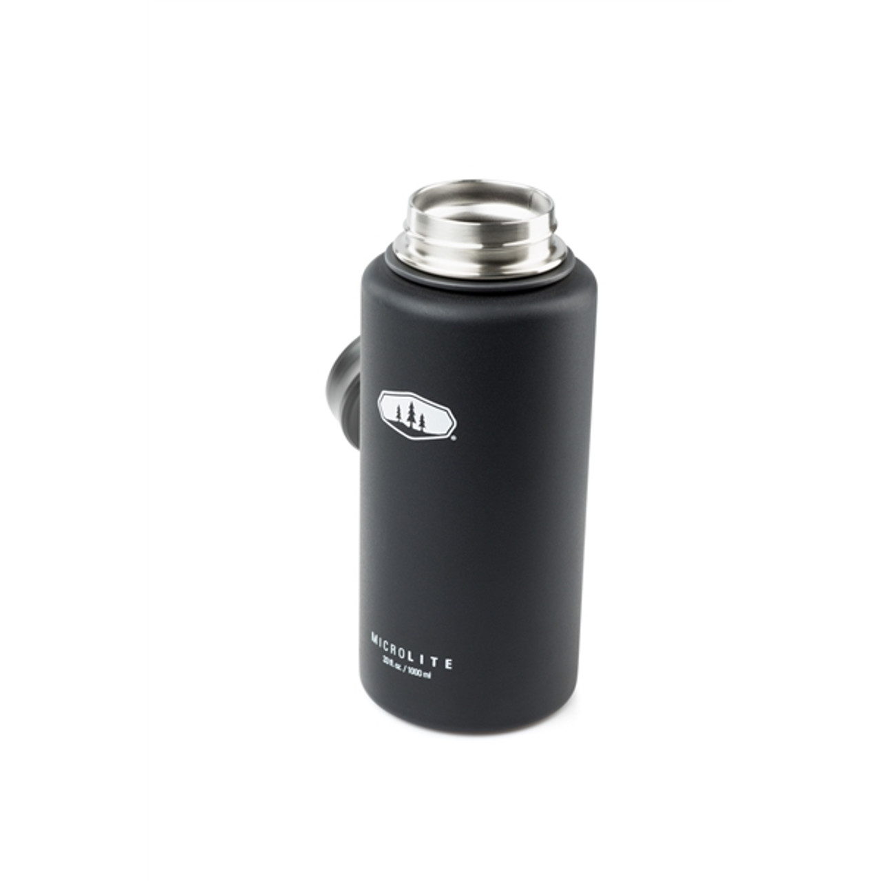 GSI Microlite Twist Flask 1L Black @https://www.mountainmailorder.co.za/