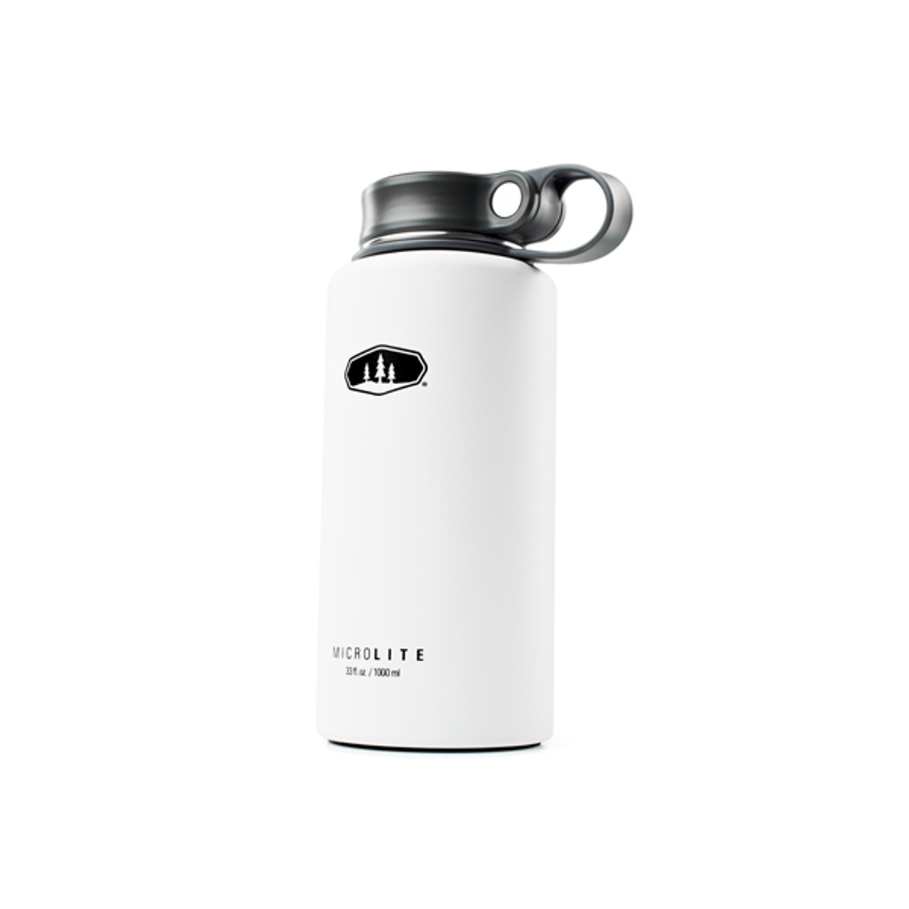 GSI Microlite Twist Flask 1L White @https://www.mountainmailorder.co.za/